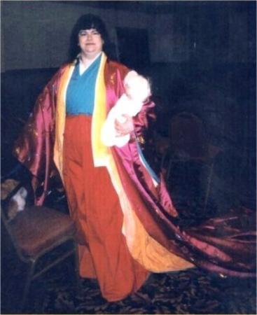 Izayoi from Inuyasha worn by Hikaruchan