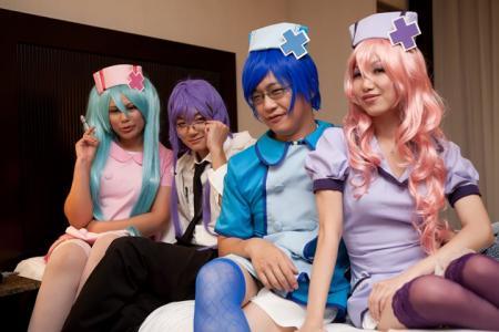 Megurine Luka from Vocaloid 2 worn by Phoenix