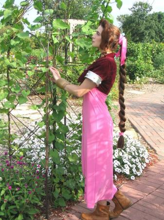 Aeris / Aerith Gainsborough from Final Fantasy VII worn by Cosplay Kitten