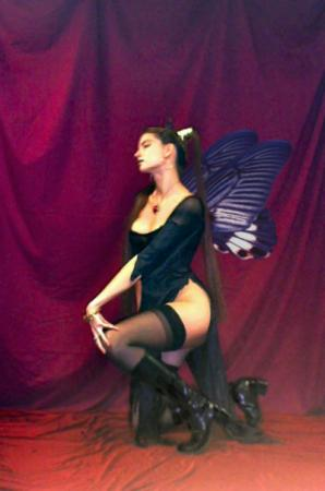 Dark Fairy from Original:  Fantasy worn by Cosplay Kitten