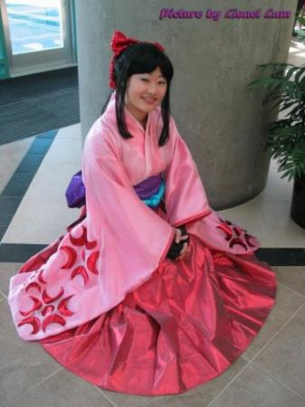 Sakura Shinguji from Sakura Wars Musicals worn by Aria