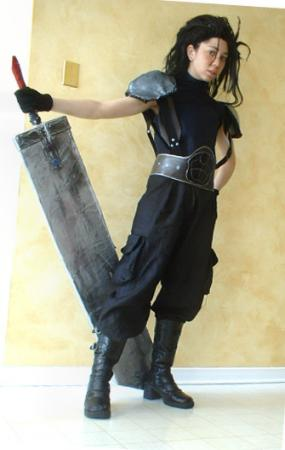 Zack from Final Fantasy VII worn by Scoti