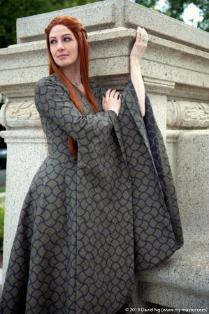 Sansa Stark from Game of Thrones worn by Fire Lily