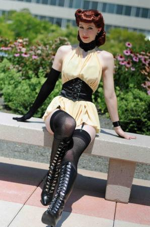Sally Jupiter / Silk Spectre I from Watchmen, The worn by Fire Lily