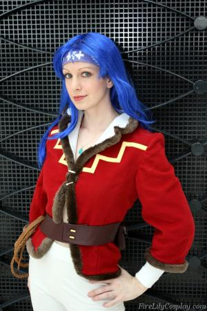 Fresca from Lunar: Silver Star Story Complete worn by Fire Lily