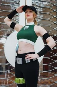 Sonya Blade from Mortal Kombat worn by Fire Lily
