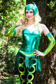 Enchantress from Marvel Comics worn by Fire Lily