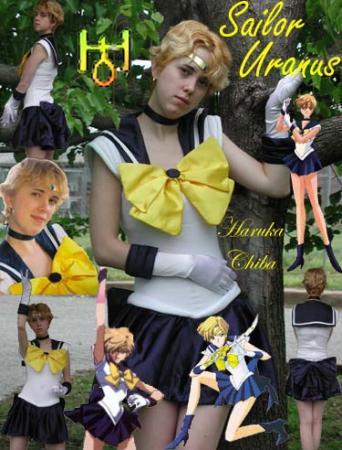 Sailor Uranus from Sailor Moon S