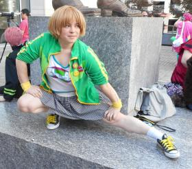 Chie Satonaka from Persona 4: Dancing All Night worn by Zip