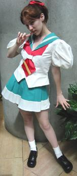 Wakaba Shinohara from Revolutionary Girl Utena (Worn by Michi)