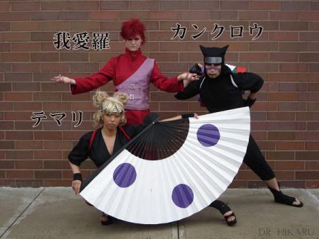Temari from Naruto Shippūden worn by Dr Hikaru