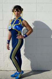 Chun Li from Street Fighter Alpha worn by Dr Hikaru