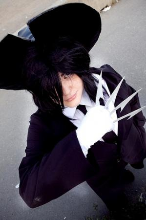 Akabane Kurodo / Dr. Jackal 	 from Getbackers worn by Valdrein