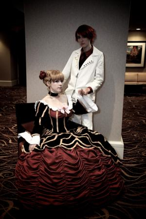 Beatrice from Umineko no Naku Koro ni (Worn by blue)