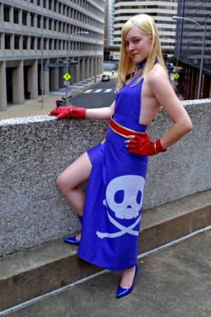 Bonne Jenet from Garou: Mark of the Wolves worn by Toastersix