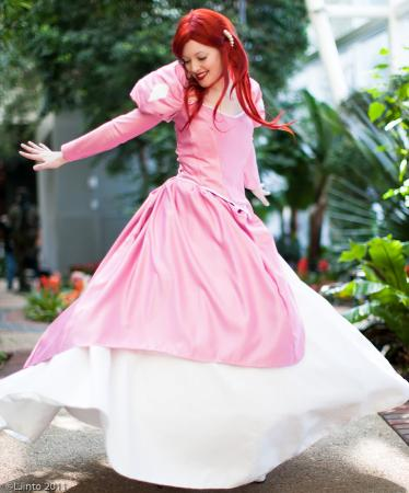 Ariel from Little Mermaid worn by Toastersix