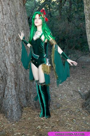 Rydia from Final Fantasy IV worn by Nessa