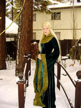 Eowyn from Lord of the Rings worn by Nessa
