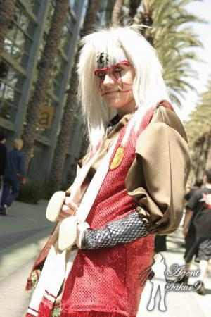 Jiraiya from Naruto worn by Nessa