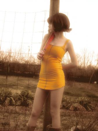 Selphie Tilmitt from Final Fantasy VIII worn by KittyCupCake
