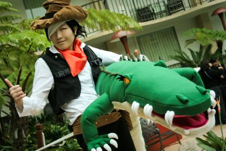Jim Crocodile Cook from Yu-Gi-Oh! GX worn by Imari Yumiki