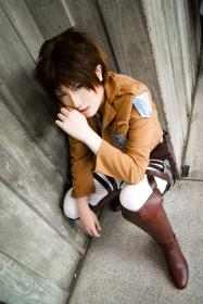 Eren Yeager from Attack on Titan worn by Imari Yumiki