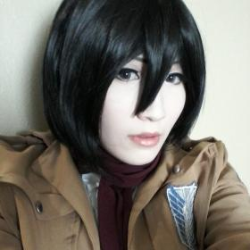 Mikasa Ackerman from Attack on Titan worn by Imari Yumiki