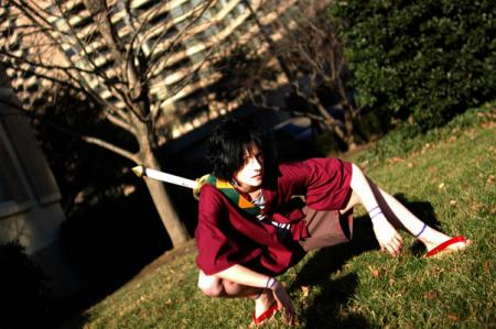 Mugen from Samurai Champloo worn by Nyanko-chan