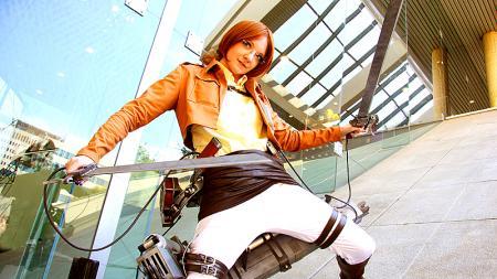 Hanji Zoe from Attack on Titan