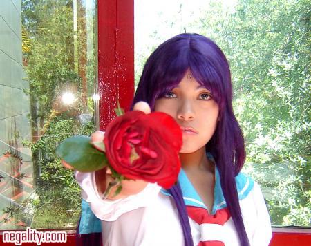 Anthy Himemiya from Revolutionary Girl Utena worn by Yueri