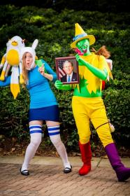 Fionna from Adventure Time with Finn and Jake worn by Foaming Owl