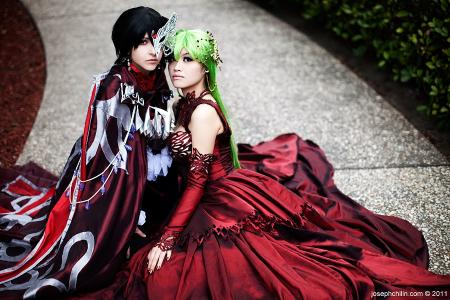 Lelouch vi Britannia from Code Geass worn by Shiya Wind