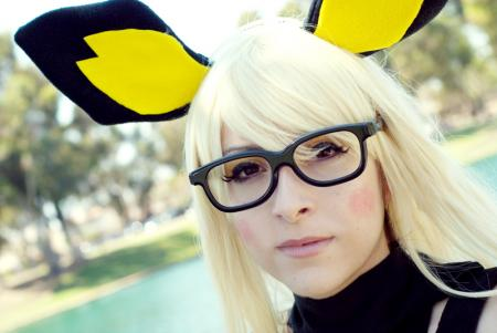 Pichu from Pokemon worn by Shiya Wind