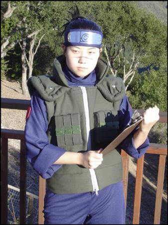 Iruka Umino from Naruto worn by pikacello