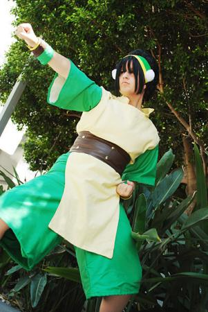 Toph Bei Fong from Avatar: The Last Airbender