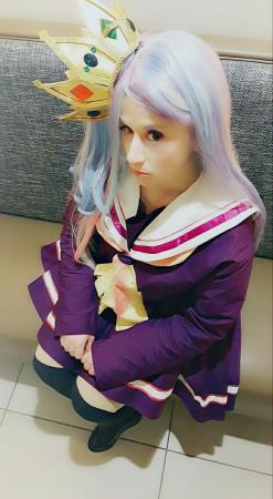 Shiro from No Game No Life worn by Pocky Princess Darcy