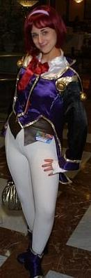 Sumire Kanzaki from Sakura Wars worn by Pocky Princess Darcy