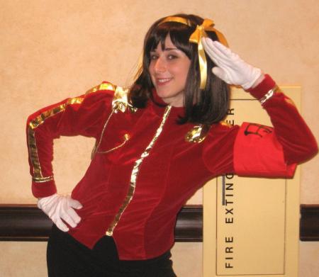Haruhi Suzumiya from Melancholy of Haruhi Suzumiya worn by Pocky Princess Darcy