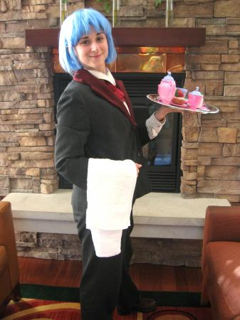 Hayate Ayasaki from Hayate the Combat Butler worn by Pocky Princess Darcy