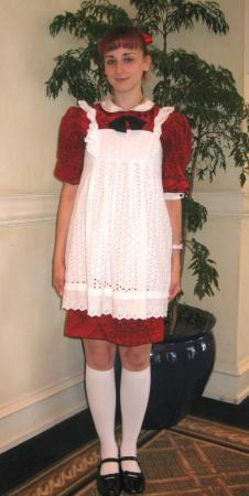 V.I.C.I  / Vikki from Small Wonder worn by Pocky Princess Darcy