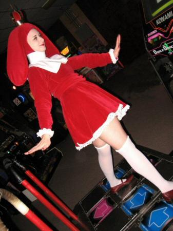 Princess Zukin from Dance Dance Revolution worn by Pocky Princess Darcy