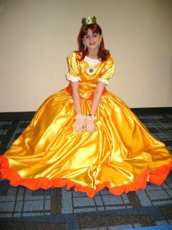 Daisy Sunshine from Mario Party 4 worn by Pocky Princess Darcy