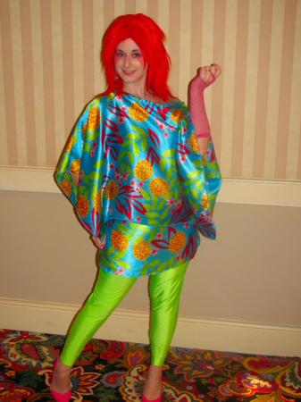 Kimber from Jem and the Holograms worn by Pocky Princess Darcy