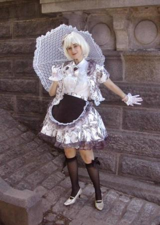 Black and White Lolita from Original: Gothic Lolita / EGL / EGA worn by Pocky Princess Darcy