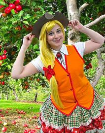Applejack from My Little Pony Friendship is Magic worn by Pocky Princess Darcy