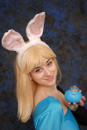 Bunny Girl from Dragon Quest worn by Pocky Princess Darcy