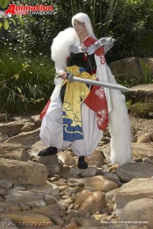 Sesshoumaru from Inuyasha worn by Yuki Le Fay