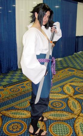 Sasuke Uchiha from Naruto Shippūden worn by Sakura saku