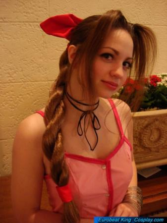 Aeris / Aerith Gainsborough from Kingdom Hearts worn by Melly