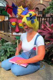Coco Bandicoot from Crash Bandicoot worn by Shiva